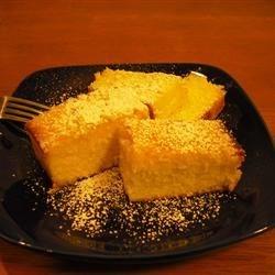 Barbara's Golden Pound Cake