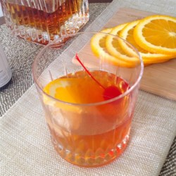 Classic Old Fashioned Recipe - One of the great classic bourbon cocktails, the Old Fashioned was invented in Louisville, KY. Try bourbon, rye, or a blended whiskey in this cocktail. You can also sub one sugar cube for the simple syrup.