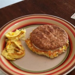 Western Denver Recipe - Enjoy the Western Denver, a mixture of eggs, peppers, and onion, on its own as an omelet, or between two slices of bread as a Denver sandwich.