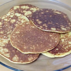 Quick Almond Flour Pancakes Recipe - Almond flour pancakes are naturally gluten-free and a delicious and filling way to start your day. Serve with your favorite pancake toppings.