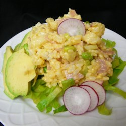 Rice and Ham Salad