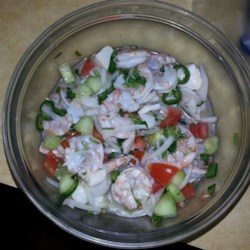 Javi's Really Real Mexican Ceviche Recipe - This recipe is one of my family's favorites. It can be served as a meal or as an appetizer, as it is normally served in most authentic Mexican restaurants.
