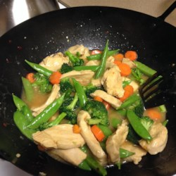 Orange Chicken Stir-Fry