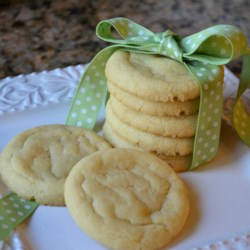Cracked Sugar Cookies I Recipe - This recipe makes a nice sugar cookie with a soft center.