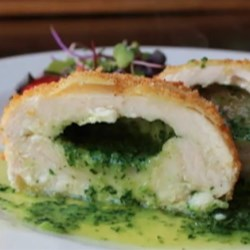 Chef John's Chicken Kiev Recipe - It takes a little work, but this succulent chicken Kiev with homemade parsley butter is well worth the effort.