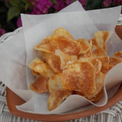Salt and Vinegar Potato Chips Recipe - Make your own salt-and-vinegar potato chips using the DIY recipe and just a handful of ingredients.