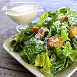 The Best Caesar Salad Dressing Recipe - Making your own salad dressing is a great budget-saver. This Caesar dressing comes together in minutes, though needs time to chill.