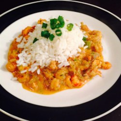 Louisiana Crawfish Etouffee Recipe - Here in Louisiana, there's nothing better than this classic during crawfish season.  This recipe is easy and can be substituted with shrimp when crawfish are out of season.  Even better when served with hot garlic French bread!  Start cooking the rice first since this is a quick and easy dish.
