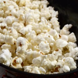 Movie Star Popcorn Recipe - Make popcorn the old fashioned way -- on the stove top!