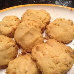 White chocolate orange cookies recipe