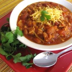 Just Like Wendy's(R) Chili Recipe and Video - Chili that tastes like the kind from that famous chain with the juicy, square burgers is easy to make and only needs an hour to simmer. Serve it with finely chopped onion and shredded cheese.