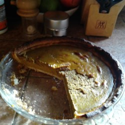Old Classic Pumpkin Pie