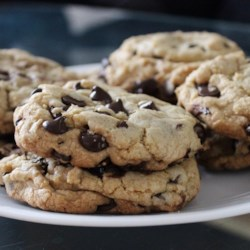 Best Big, Fat, Chewy Chocolate Chip Cookie Recipe - Make bakery-style chocolate chip cookies with these tips.