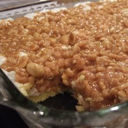 Peanut Candy Bar Cake