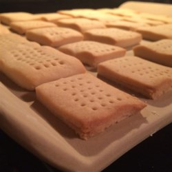 Scottish Shortbread IV Recipe and Video - Real butter and brown sugar give it an irresistible flavor.