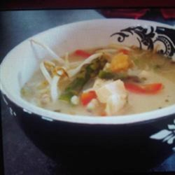 Heavenly Turkey Soup Recipe - This turkey soup is refreshing and light on a sunny day, and warm and heavenly on a rainy evening.