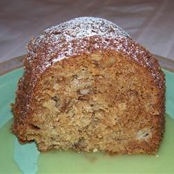 Apple Honey Bundt Cake 02