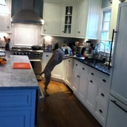 Heidi in the kitchen