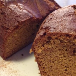 Apple Butter Bread Recipe - The wonderful taste of apple butter in a very easy to make bread with nutmeg, cloves, and raisins.