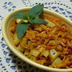 Carrot and Fennel Recipe - A great accompaniment for any dinner. It uses very basic ingredients and is slightly Indian-inspired.