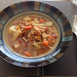 Turkey Carcass Soup