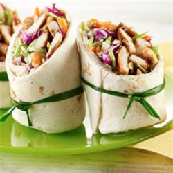 Teriyaki Chicken Wraps Recipe - Fast and yummy Chicken Wraps using Teriyaki Sauté Express (R) Sauté Starter.