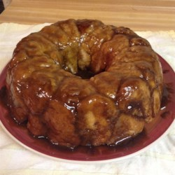 Monkey Bread II Recipe and Video - Here is a recipe for a bread machine, though it can easily be done in the conventional, muscle building way. You use the dough only setting and do the rest by hand.  For machines that do 1 1/2 - 2 pound capacity.