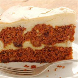Pumpkin Carrot Cake Cheesecake