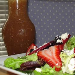 Sesame Sweet and Sour Salad Dressing Recipe - Sugar and vinegar give the sweet and the sour, while sesame seeds and garlic powder deliver additional flavors to this salad dressing recipe.