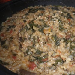 Spring Risotto Recipe - This lemony rice dish is a wonderful way to feature fresh spring herbs. Enjoy!