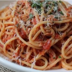 Chef John's Spaghetti al Tonno  Recipe - This recipe for spaghetti with tuna is quick, easy, and has all the rich flavor of a classic meat sauce. It's ready in less than an hour!