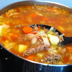 Mamaw's Vegetable Soup