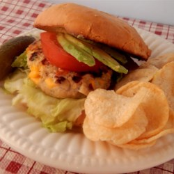 Delicious Turkey Burgers Recipe - These turkey burgers are given extra flavor through the addition of jalapeno pepper, onion, garlic, and bacon!