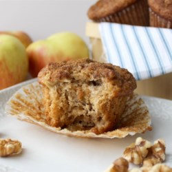 Apple Pie Muffins Recipe and Video - These buttery fruity muffins are ideal for dessert or fancy weekend breakfast treats.
