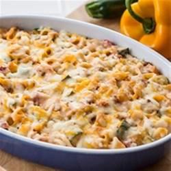 Creamy Taco Unstuffed Shells Recipe - The deliciousness of a taco in a comforting pasta casserole.