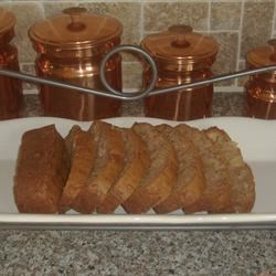 Zucchini Pineapple Bread I Recipe - Luscious pineapple is strewn throughout these ambrosial zucchini loaves, perfectly spiced with nutmeg and cinnamon.