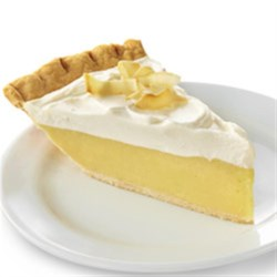 Coconut Cream Pie with Truvia(R) Baking Blend Recipe - This smooth and creamy custard pie is a decadent delight! Made with Truvia(R) Baking Blend, it contains 50% less sugar than the full-sugar version.