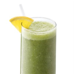 Spinach and Berry Smoothie with Truvia(R) Natural Sweetener Recipe - Also known as the 'Green Dream' this beverage is a refreshing, non-dairy smoothie that contains fresh spinach and has 25% fewer calories and 30% less sugar than the full-sugar version.