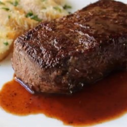 Manhattan Filet with Pan Sauce Bordelaise Recipe - Use Chef John's simple dry-aging technique to make these delicious Manhattan filet steaks with a pan-sauce bordelaise.