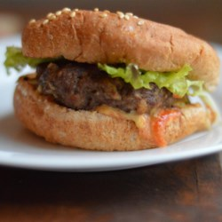Ranch Burgers Recipe - The beef burgers stay juicy and delicious on the grill or stove top! Serve on buns with your favorite condiments.