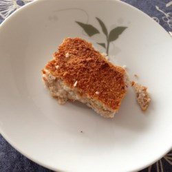 Healthy (No Sugar/Butter Added) Almond and Coconut Squares