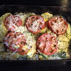 Squash and Zucchini Casserole