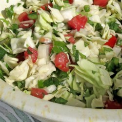 Cabbage Pico de Gallo Recipe - You remember that one time you thought there was cabbage in your fresh salsa? There was! Now try making it on your own!