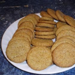 Spice Crackers Recipe - You'll be pleased with the ease with which you can achieve homemade snack crackers using this recipe with ginger and mustard.