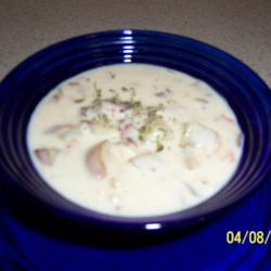 Potato Bacon Clam Chowder