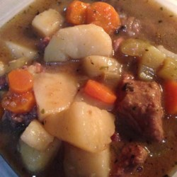 Slow Simmer Beef Stew