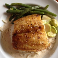 Salmon with Brown Sugar Glaze Recipe and Video - Serve this quick salmon recipe with rice and broccoli for an easy meal.
