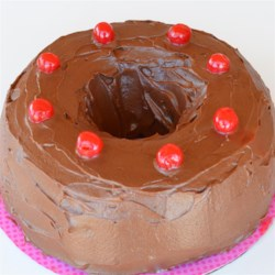 High Altitude Perfectly Chocolate Chocolate Bundt Cake