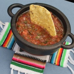 Salsa Recipe - This is a recipe I just throw together, but it is very popular. Serve with tortilla chips.
