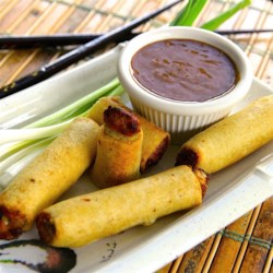 Thai Dipping Sauce Recipe - Use this recipe to make a quick Thai-style peanut satay dipping sauce with peanut butter, coconut milk, soy sauce, and ginger.